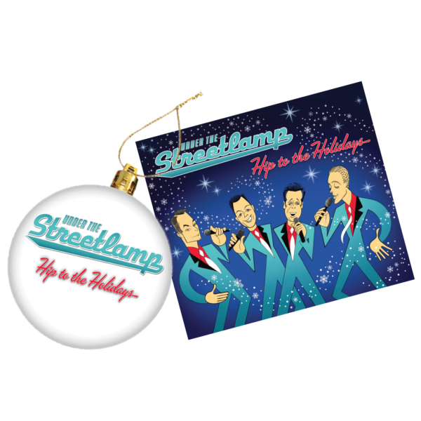hip to the holidays cd and ornament