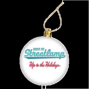 Under the Streetlamp Christmas Ornament