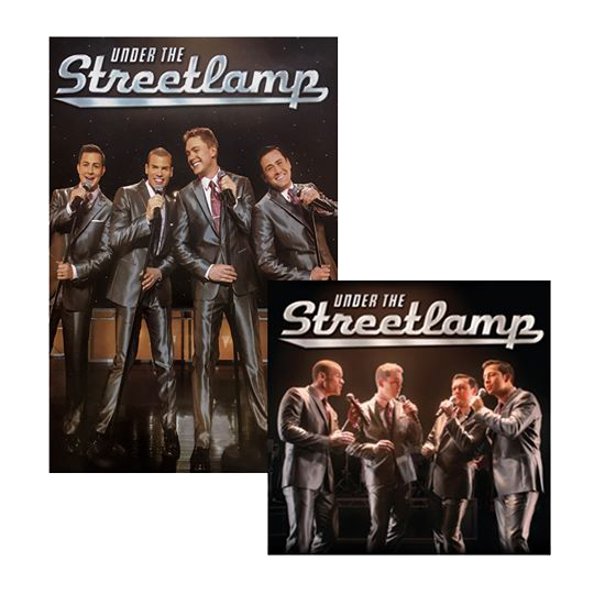Under The Streetlamp, LIVE! CD & DVD Combo
