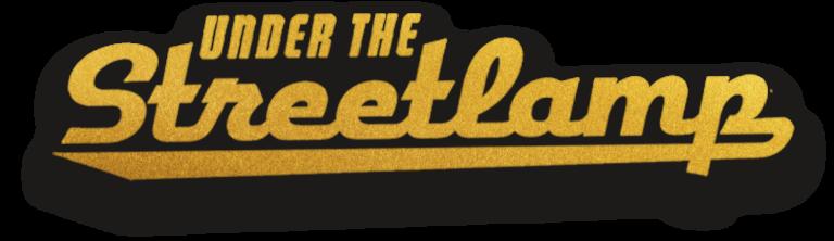 gold streetlamp logo